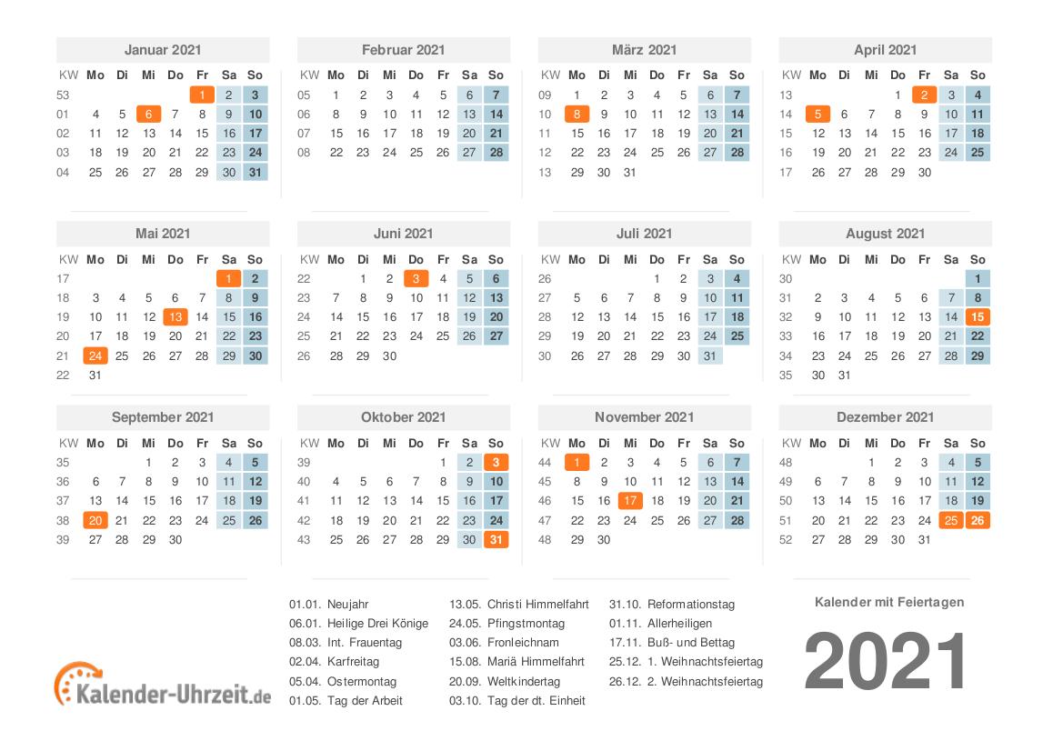 27 Kalenderwoche 2021